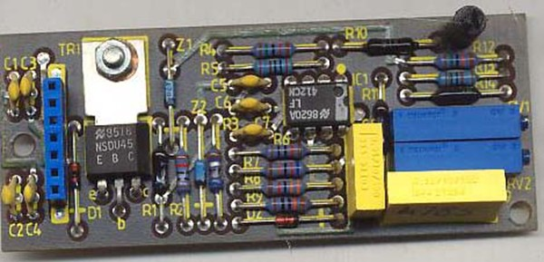 ALARM MONITOR CARD