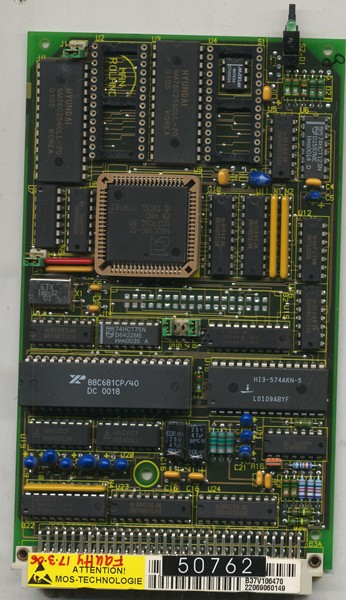 Micro Computer Card for MRO M/C