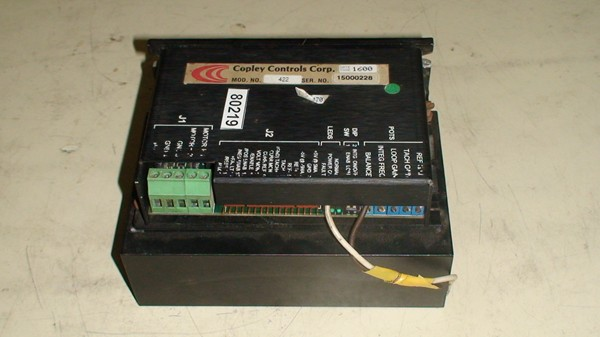 DC Brush Servo amplifier for press control