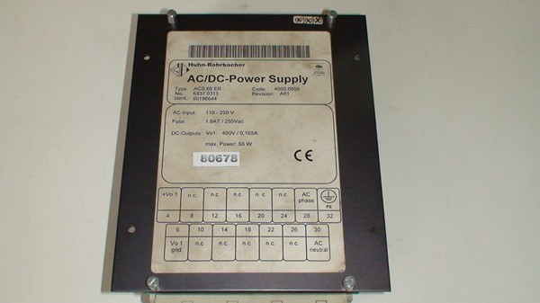 ACS 66 ER AC/DC Power Supply