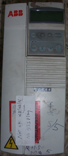 AC DRIVES MODEL NO:ACS 401000632,SR NO:3025000013