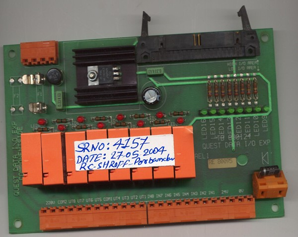 Datat I/O Exp Card Sr No :RE 80095