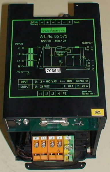 Power supply 20A 420V