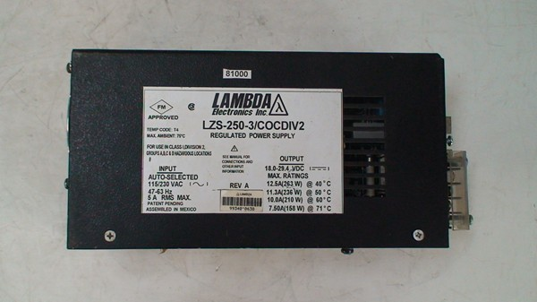 Regulated Power Supply LZS-250-3/COCDIV2