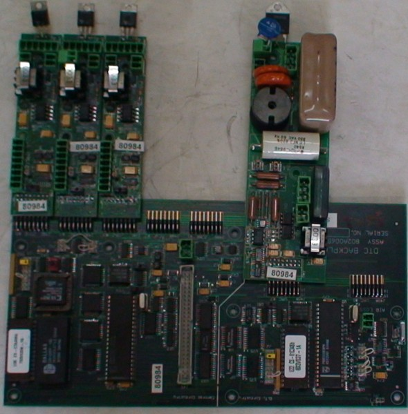 DTC backplane board