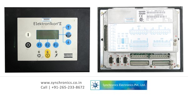 elektronikon ii by atlas copco repair at synchronics