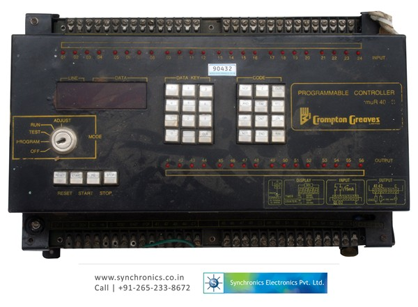 Programmable Controller Model No:MUR40