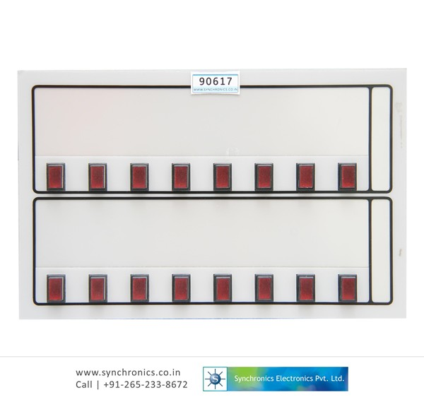 PUSH BUTTON LED DISPLAY MODULE ZE544-005A-840