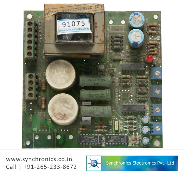 THYRISTOR FIRING CARD FOR GOLD-SILVER FURNACE