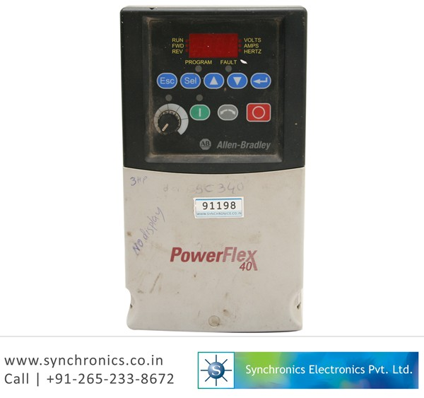 PowerFlex 40 AC Drive 3HP