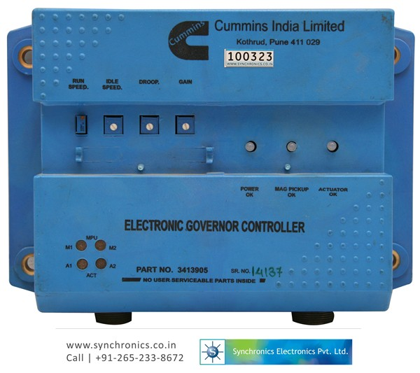 Electronic Governor Controller 3413905