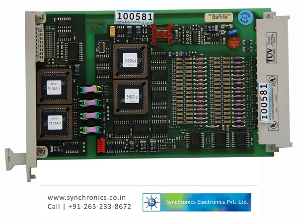16 Channel Analog Input Card Model No:10105/2/1