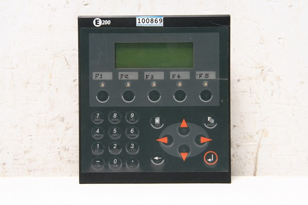 Display HMI Terminal E200