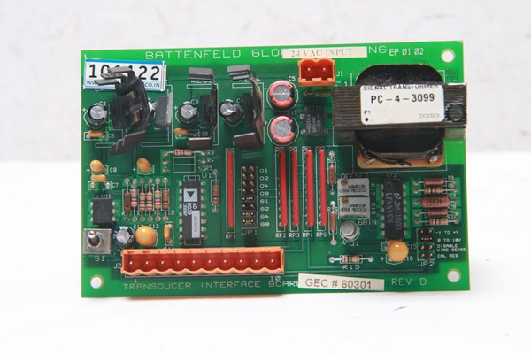 Transducer Interface Board GEC#60301