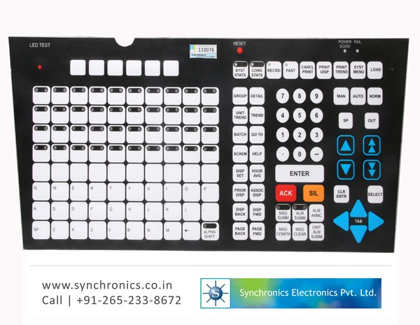 Membrane Keyboard DCS Systems Operator Station 51401577-100