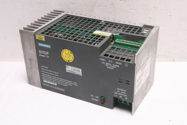 SITOP Power 12 6EP1534-1SL01 POWER SUPPLY UNIT