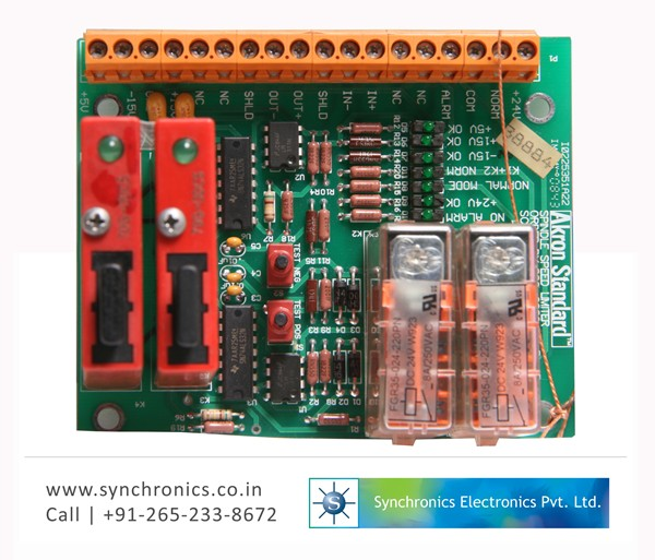 Spindle Speed Limiter Main Card 31708