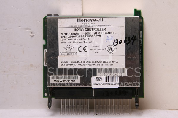 HC900 Controller 900A01-0001 AI 8 Channel