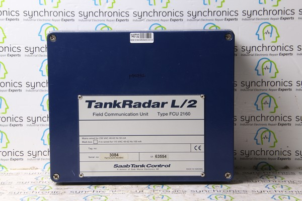 TankRadar L/2 Field Communication Unit Type-FCU 2160 Saab Tank Control