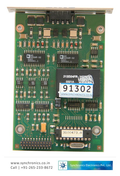 Analog OutPut Board For Analyser