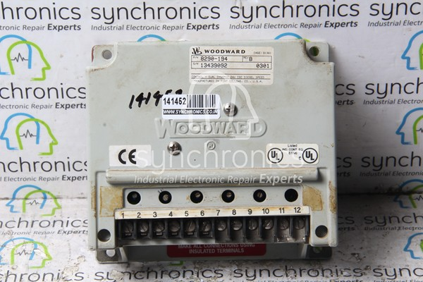 8290-194 Dual Dynamic Electronic Governor