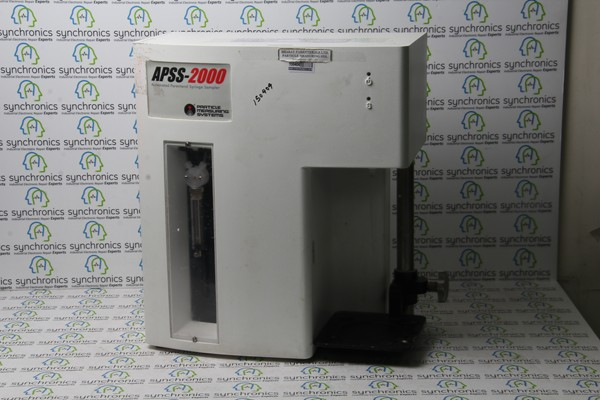 APSS-2000 Automated Parenteral Sampling System