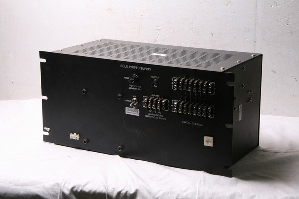 Power Supply Rating-110VAC/30VDC 25Amp