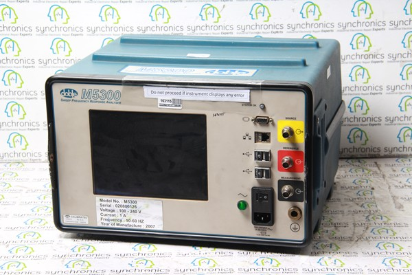 M5300 Sweep Frequency Response Analyzer